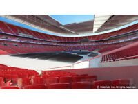 2 x ANTHONY Joshua VS WLADAMIR KLITCHKO Tickets, Great View, Lower Tier 108 WEMBLEY STADIUM