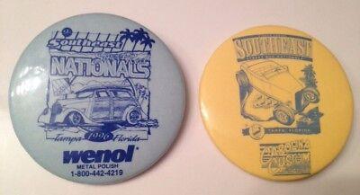 RARE 1995/1996 Southeast Street Rod Nationals Pin Back Button Tampa, Florida Car