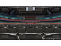 FLOOR SEATS - Anthony Joshua v Kubrat Pulev Tickets 6X