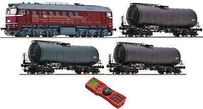 Roco 35010 - Digitales Startset mit BR120 und Güterzug, DR, Ep.IV, MultiMaus * N