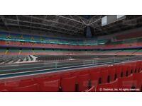 4x Anthony Joshua Vs Kubrat Pulev tickets, Cardiff Principality Stadium