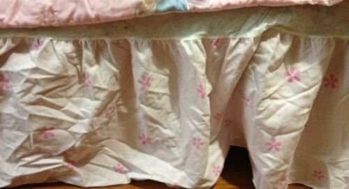 Twin Dust Ruffle, Bed Skirt, Pink, Girl's ...