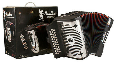 Acordeon  Pantera FBE Hohner Panther Accordion 31 button Nuevo FA