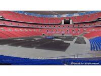 Anthony Joshua vs Wladamir Klitchko Wembley Stadium Great Seats!