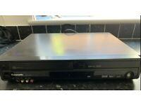 Panasonic VHS and DVD player DMR-EZ49V