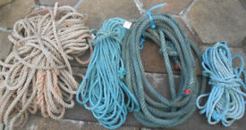 Rope----various lengths and sizes