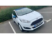 **REDUCED PRICE** FORD FIESTA 2017, WHITE EDITION 1.25 PETROL