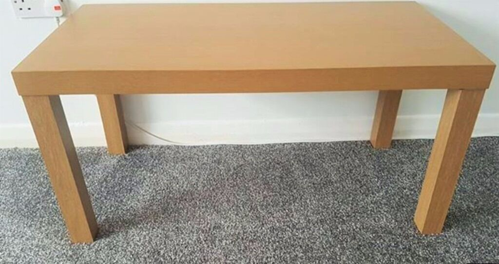 Beech Melamine Coffee Table Exc Nr New Purchased From Argos