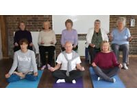 Weekly held Meditation And Relaxation Classes taught by Wheel of Yoga qualified teacher