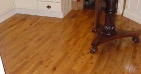 Oak Pre-Varnished floor boards