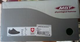 MASAI BAREFOOT TECHNOLOGY (MBT) FOOTWEAR SHADOW WALKING SHOES UK 6 NEW IN BOX