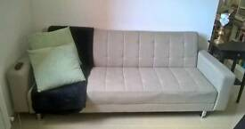 Three seater sofa bed quick sale reduced price