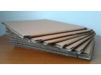 9 Set Pizza Flat Strong Box Boxes - Heavy Duty Double Wall Cardboard Cheap.