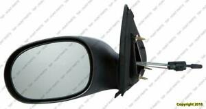 Door Mirror Manual Driver Side Sedan Dodge Neon 2000-2005
