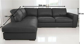SALE PRICES: Brand new corner sofa's, available in 4 colours.