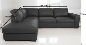 Brand new modern design corner sofa's, available in left and right handed