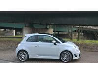 Abarth 500 : 2014(64) : 24500 Miles : Campovolo Grey : **OVER £2550 OF FACTORY FITTED EXTRAS**