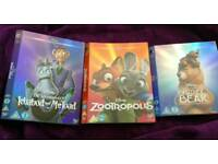 Disney Classic DVD O-Ring Sleeves - Ichabod and Mr. Toad, Zootropolis and Brother Bear