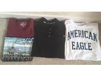 Selection of men's tops - size large