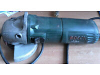 SPARES OR REPAIR - BOSCH PWS 600 GRINDER