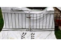 Wrought Iron Driveway Gates with all fixings