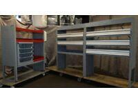 Bott Van racking, Van shelving, Van Drawers, handwash B146