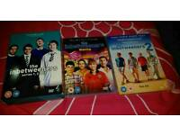 The Inbetweeners - the 2 movies and the series boxset