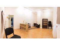 Weekend room space for Workshop