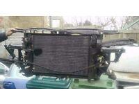 2001 VW Passat 1.8 turbo Slam panel, radiator and fan