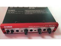 Yamaha UW500 USB Audio/Midi Interface with Manual and Leads