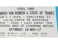 Armin Van Buuren ticket liverpool, today!