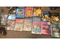 Simpsons boxsets