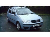 Fiat Punto 5 door hatchback, 1.2 petrol *2keys**12 MONTHS MOT*