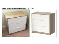 Chest of drawers - good condition