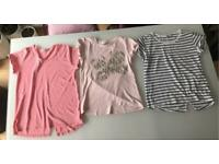 Girls 11-12 years T-Shirt Bundle X 6