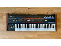 Roland Juno 6 with Midi Classic Vintage analogue synth