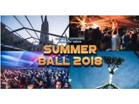 2 Tickets for CUSU Summer Ball 2018 (CU STUDENTS ONLY)