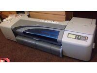 """Hp designjet 500 plus. 42"""" large format inkjet printer."""
