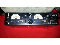 M audio dmp3 mic preamp