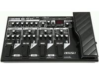 Boss me-70 multi-effects processor for guitar