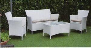 Divano divani poltrona poltrone esterni giardino vimini for Divani x giardino