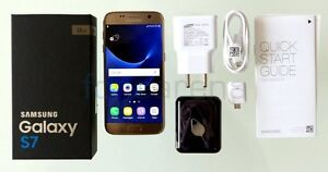 Silver Samsung S7 32gb Factory unlocked w box and accessories