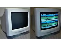 RETRO GAMERS! VINTAGE CRT 14 INCH VGA CTX Monitor (CXD14L) - FULLY WORKING!