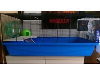 Large hamster/rodent cage with items -For collection-