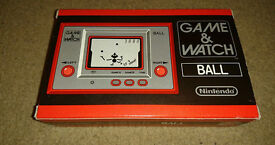 GAME AND WATCH - BALL - BRAND NEW IN BOX - CLUB NINTENDO EXCLUSIVE - RARE!!
