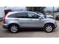 2007 NEW SHAPE Honda CR-V ( CRV ) 2.0 V-tec ES model 120k hist 12 mths mot sil/ grey int LOVELY CAR!