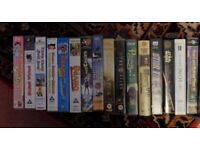 VHS Collection Variety of genres, free on collection