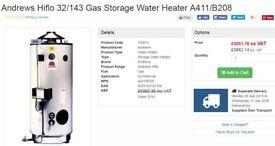 andrews 32-143, large hot water boiler