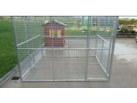 8ft BY 8FT FULLY GALVANISED DOG PENS BRAND NEW