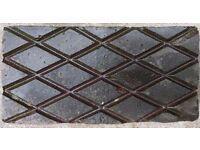120 victorian diamond pavers